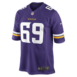 NFL Minnesota Vikings (Jared Allen) Men's American Football Home Game Jersey