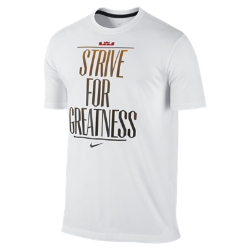 "LeBron ""Strive for Greatness"" Men's T-Shirt"