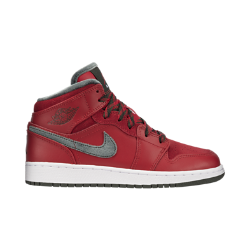 Air Jordan 1 Mid Premium Kids' Shoe