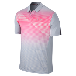 TW Seasonal Bold Stripe Men's Golf Polo Shirt