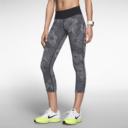 Nike Epic Lux Nylon Printed Cropped Women's Running Tights