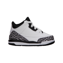 Air Jordan Retro 3 Toddler Kids' Shoe