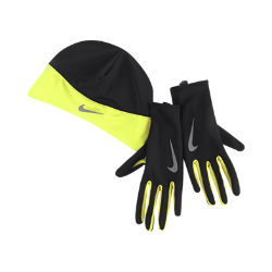 Nike Dri-FIT Beanie and Gloves Men's Running Set