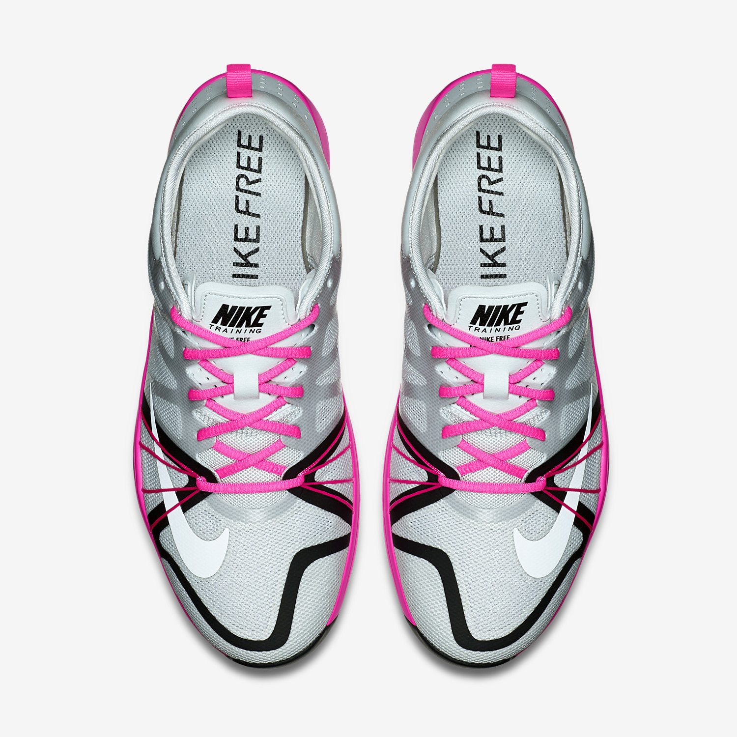 nike free cross complete pink