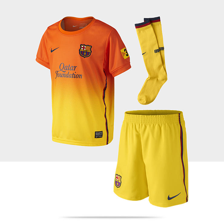 2012/13 FC Barcelona Replica - Ensemble de football pour Petit gar&ccedil;on (3-8 ans)