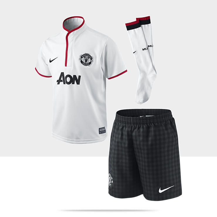 2012/13 Manchester United Authentic - Ensemble de football pour Garçon (3-8 ans)