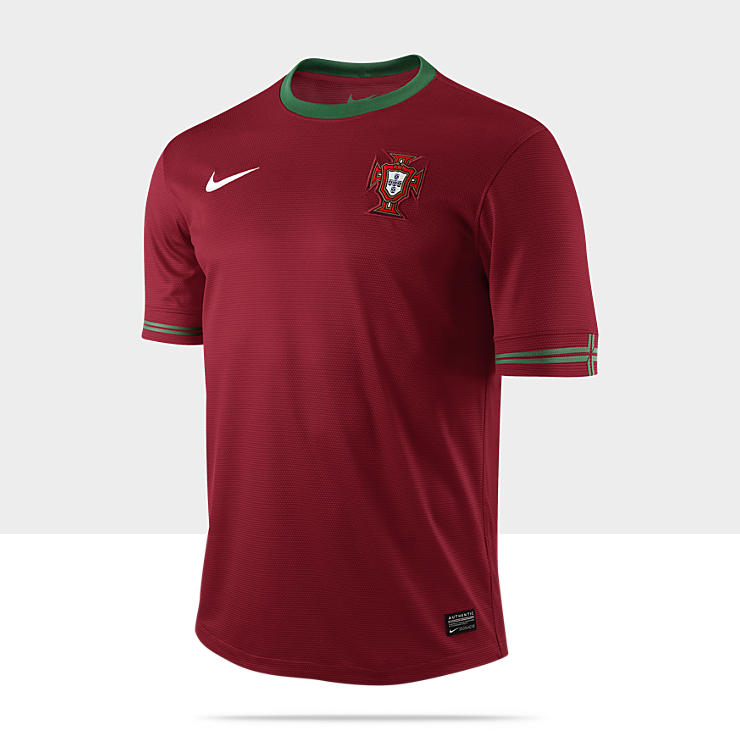 2012 Portugal Replica Camiseta de f&uacute;tbol - Hombre