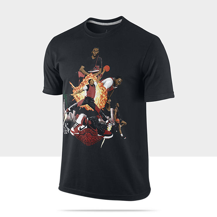 Air Jordan&nbsp;1 Picturesque &ndash; Tee-shirt pour Homme