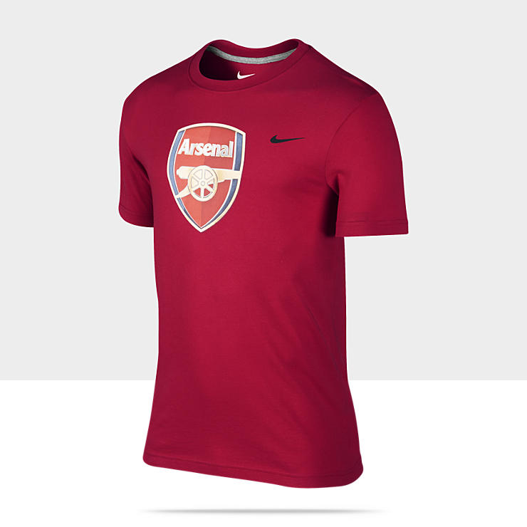 Arsenal Core Basic Crest Camiseta - Hombre