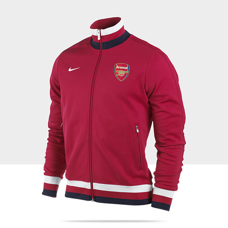 Arsenal Football Club Authentic N98 - Veste de survêtement de football pour Homme
