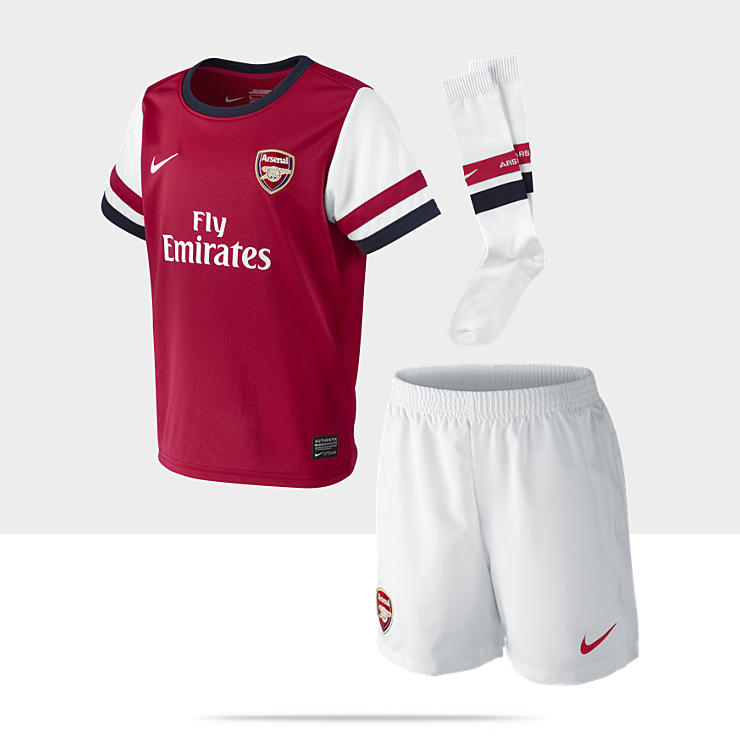 Arsenal Football Club Replica 2012/13 - Ensemble de football pour Petit garçon (3-8 ans)