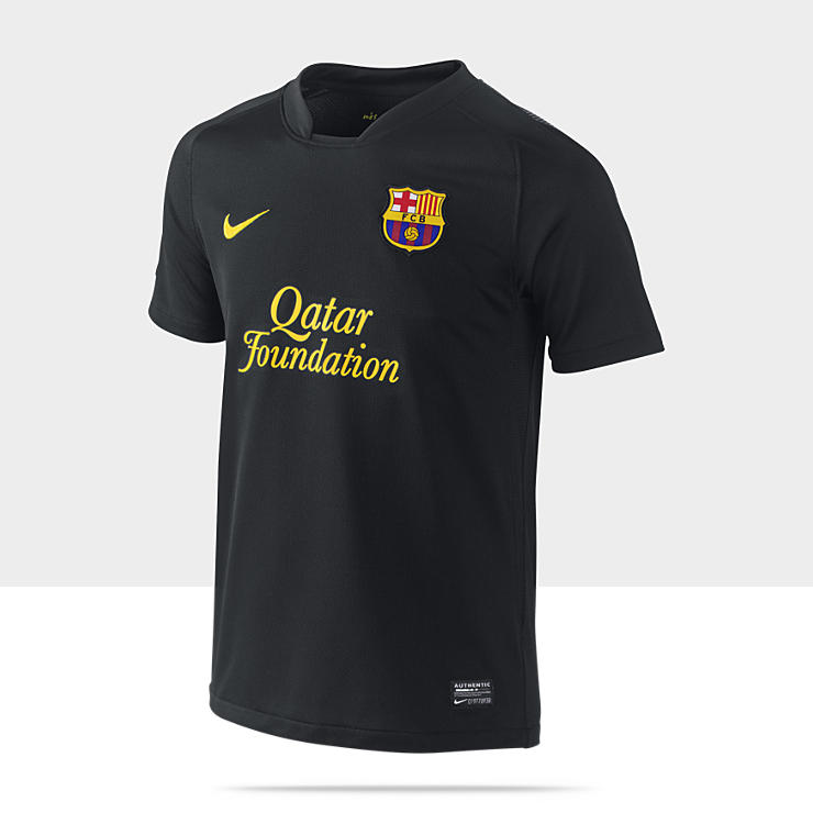 2011/12 FC Barcelona Official Replica Away (8y-15y) Boys' Football Shirt