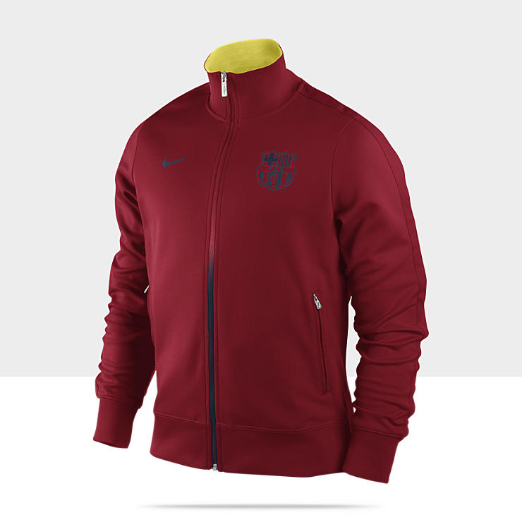 FC Barcelona Authentic N98 &ndash; Veste de surv&ecirc;tement de football pour Homme