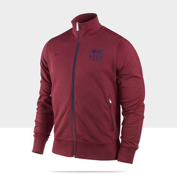 FC Barcelona Authentic N98 – Veste de survêtement de football pour Homme