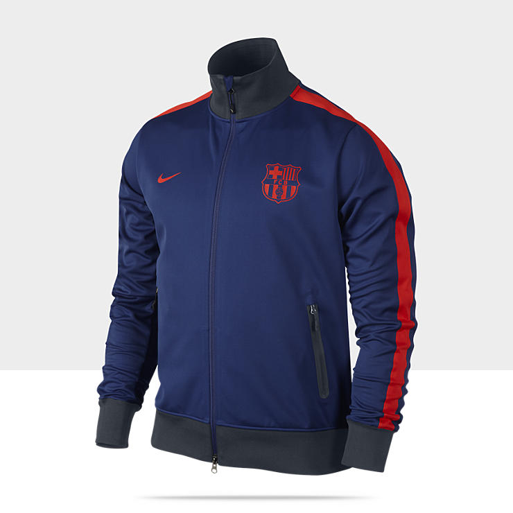 FC Barcelona Authentic&nbsp;N98&nbsp;CL&nbsp;&ndash;&nbsp;Veste de surv&ecirc;tement en Storm-FIT&nbsp;pour Homme