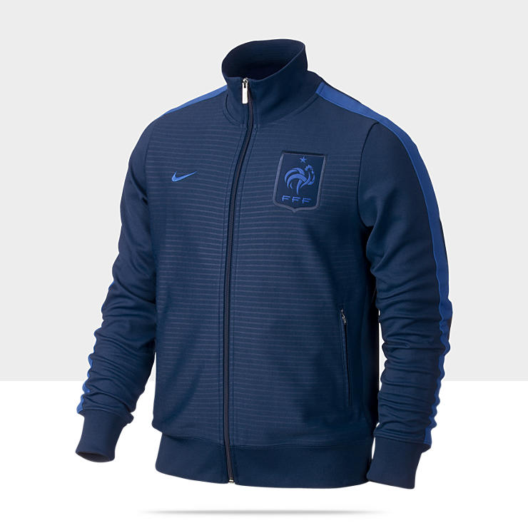 FFF N98 Authentic – Veste de survêtement de football pour Homme