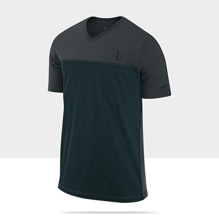 Federer Hard Court Colourblock - Tee-shirt de tennis pour Homme
