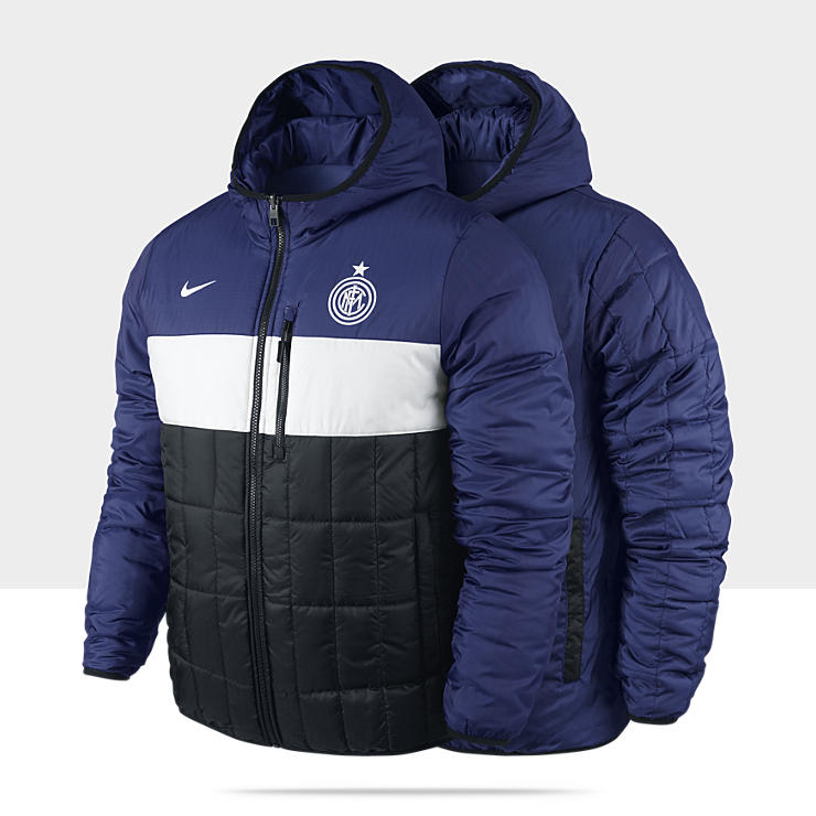 Inter Milan Flip It Reversible - Veste de football réversible pour Homme