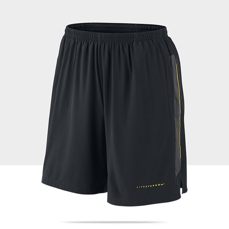 LIVESTRONG 18cm Stretch Woven Pantal&oacute;n corto de running - Hombre