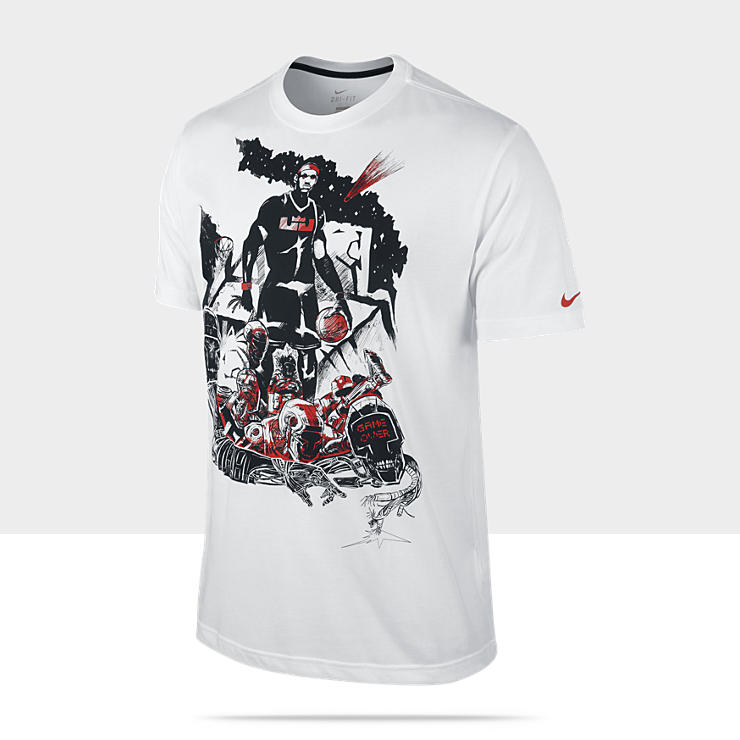 LeBron Game Over – Tee-shirt de basket-ball pour Homme