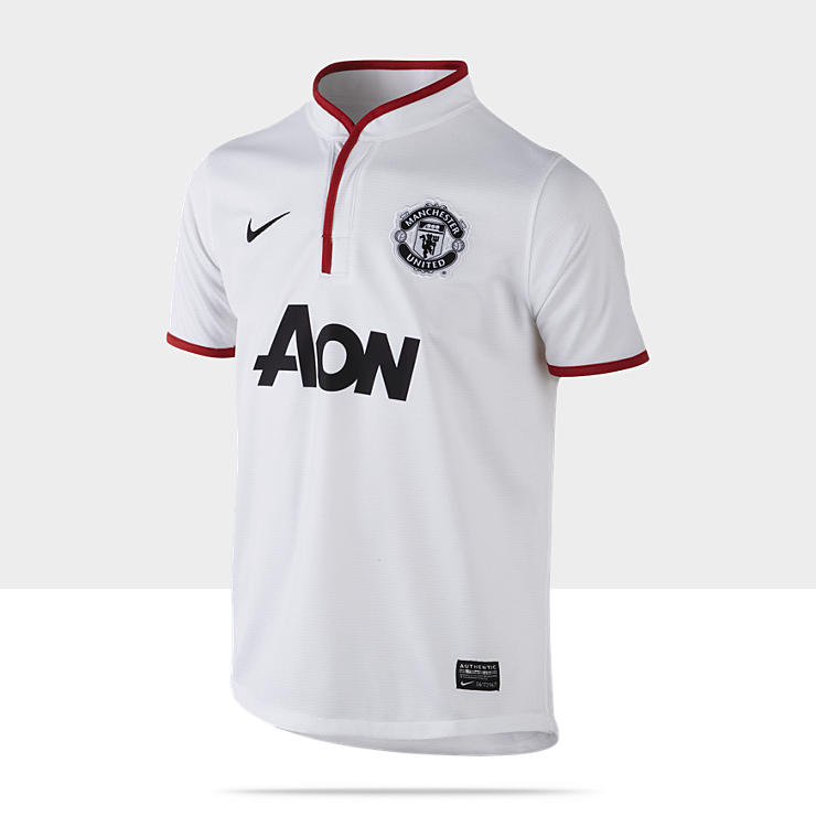 2012/13 Manchester United Authentic Camiseta de f&uacute;tbol - Chicos (8 a 15 a&ntilde;os)