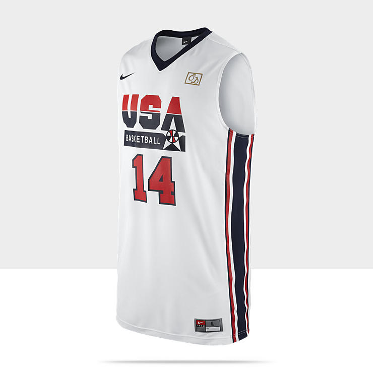 Maillot de basket Nike Replica Retro USA (Barkley)pour Homme