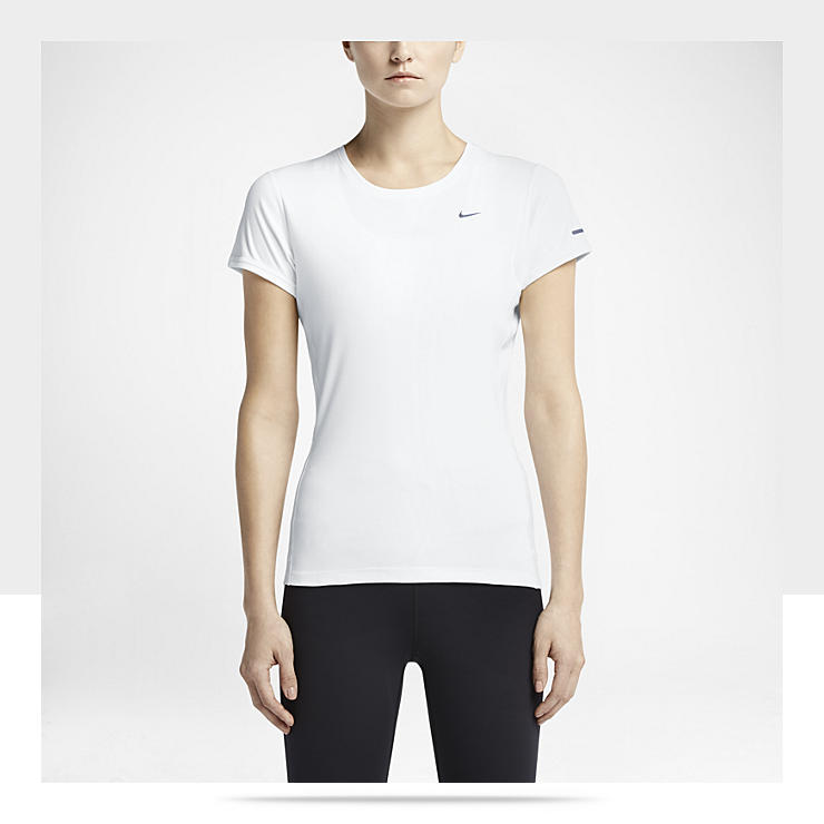 Maillot de course &agrave; pied Nike Miler pour Femme