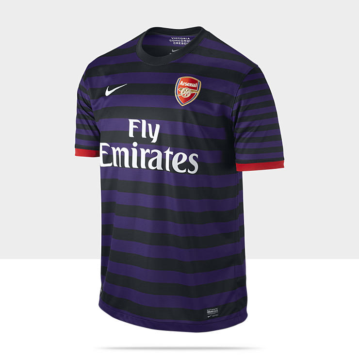 Maillot de football 2012/2013 Arsenal Football Club Replica Short-Sleeve