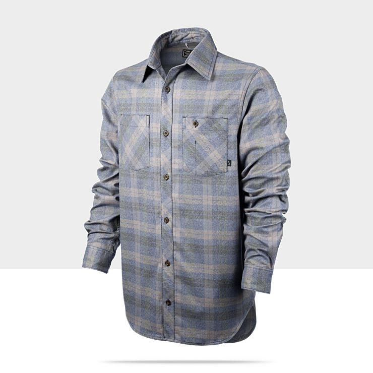 Maillot manches longues Nike Raleigh Drifter Plaid Long-Sleeve