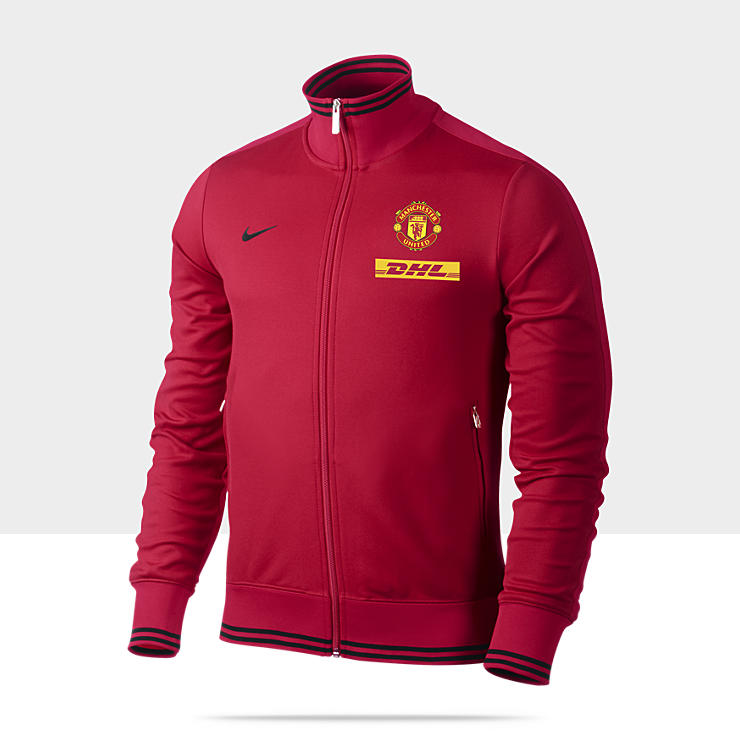 Manchester United Authentic N98 - Veste de survêtement de football pour Homme