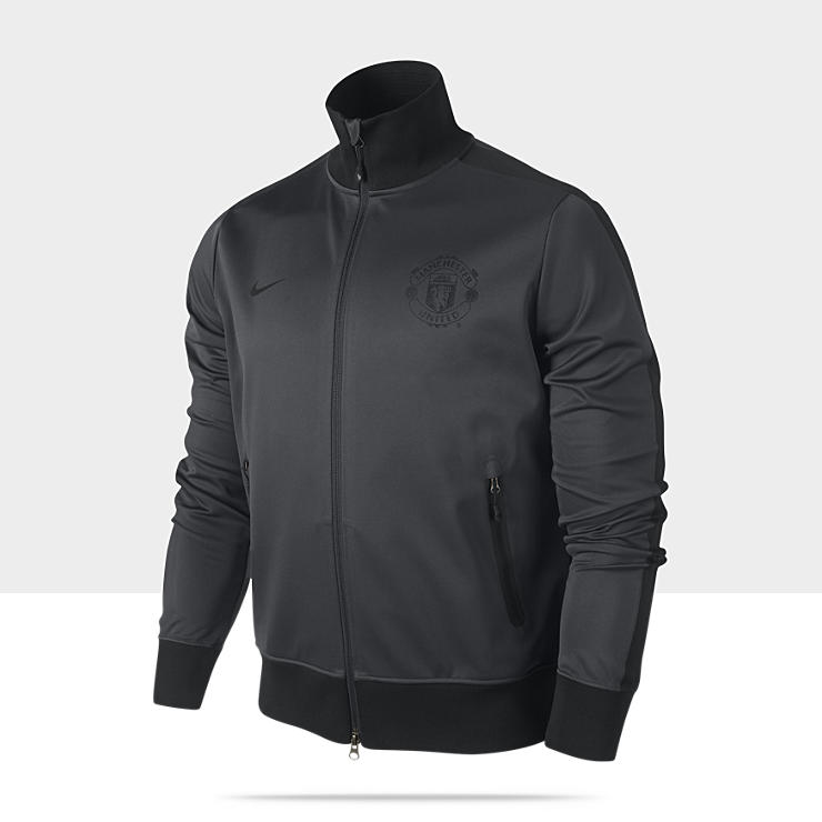 Manchester United Authentic N98 CL Chaqueta deportiva de f&uacute;tbol - Hombre