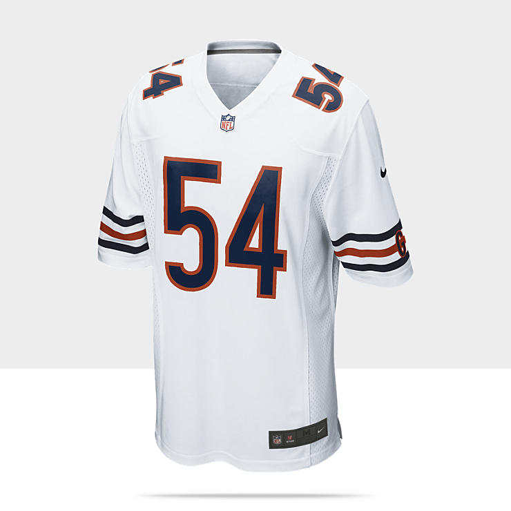 NFL Chicago Bears (Brian Urlacher) - Maillot de football am&eacute;ricain ext&eacute;rieur pour Homme