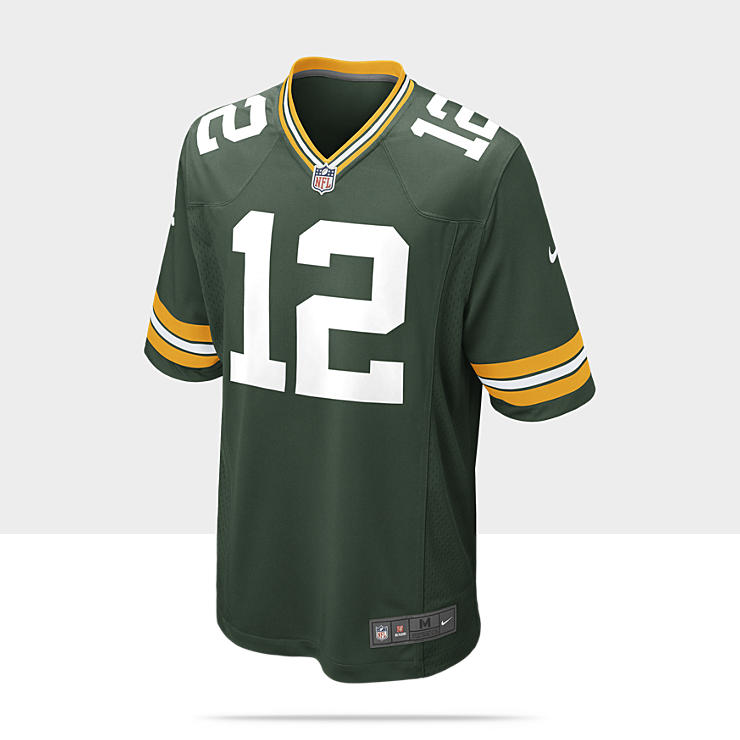NFL Green Bay Packers (Aaron Rodgers) - Maillot de football am&eacute;ricain domicile pour Homme