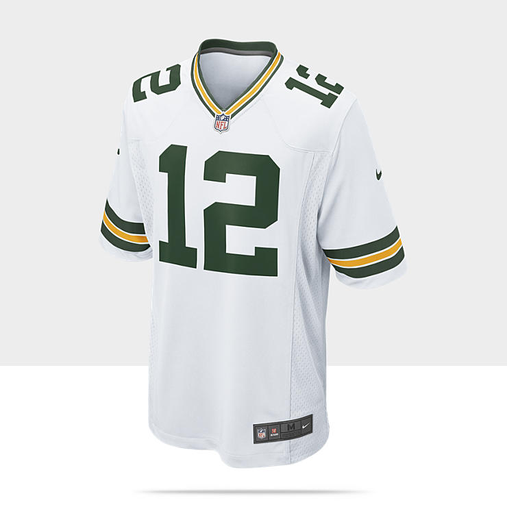 NFL Green Bay Packers (Aaron Rodgers) Camiseta de f&uacute;tbol americano de 2&ordf; equipaci&oacute;n - Hombre