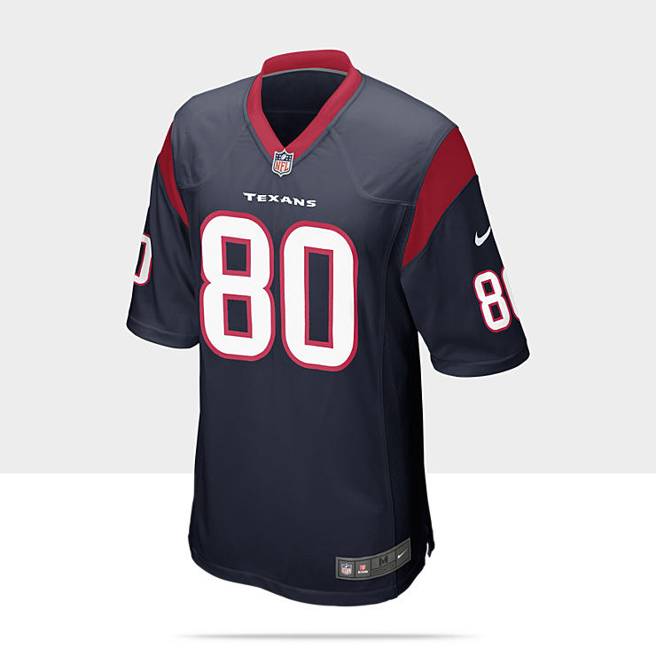 NFL Houston Texans (Andre Johnson) - Maillot de football am&eacute;ricain domicile pour Homme