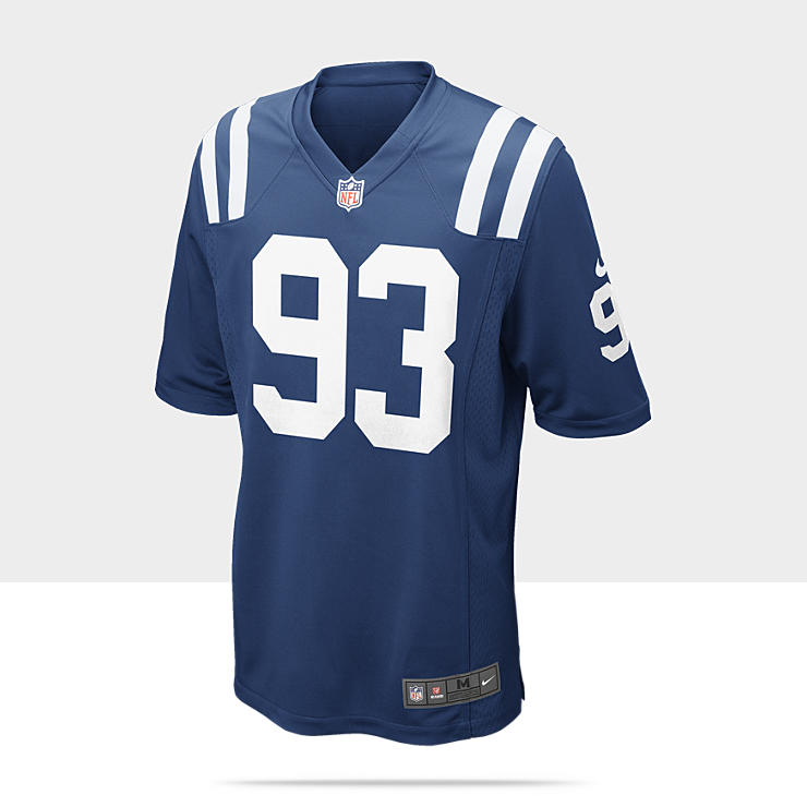 NFL Indianapolis Colts (Dwight Freeney) - Maillot de football am&eacute;ricain domicile pour Homme