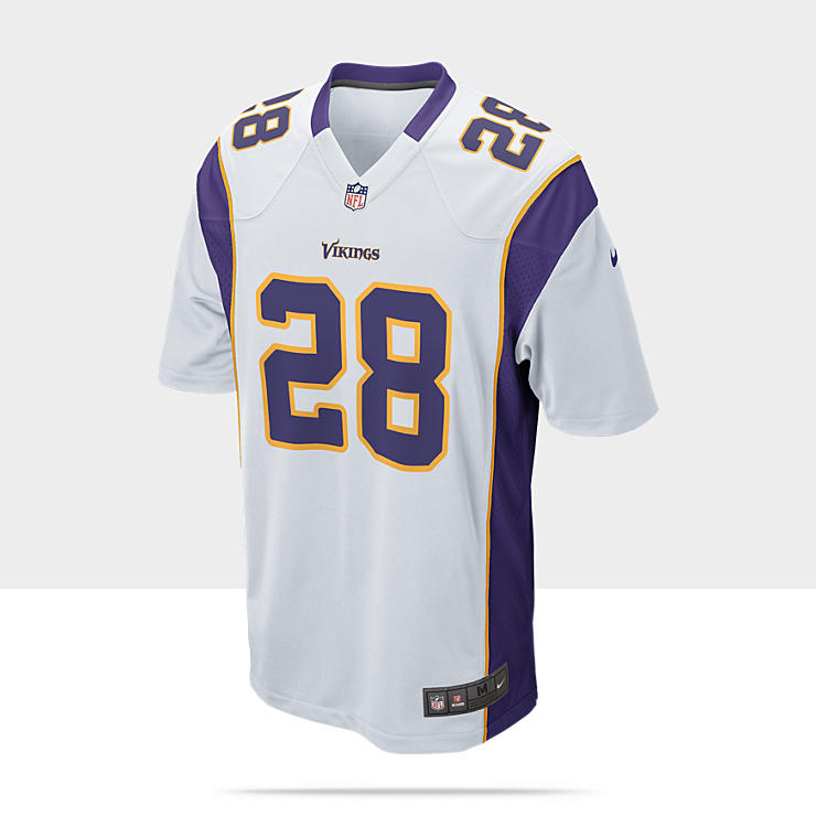 NFL Minnesota Vikings (Adrian Peterson) - Maillot de football am&eacute;ricain ext&eacute;rieur pour Homme