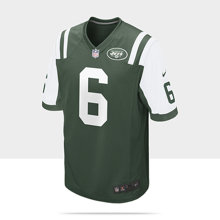 NFL New York Jets (Mark Sanchez) Camiseta de f&uacute;tbol americano de 1&ordf; equipaci&oacute;n - Hombre