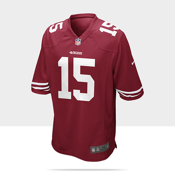 NFL San Francisco 49ers (Michael Crabtree) - Maillot de football am&eacute;ricain domicile pour Homme