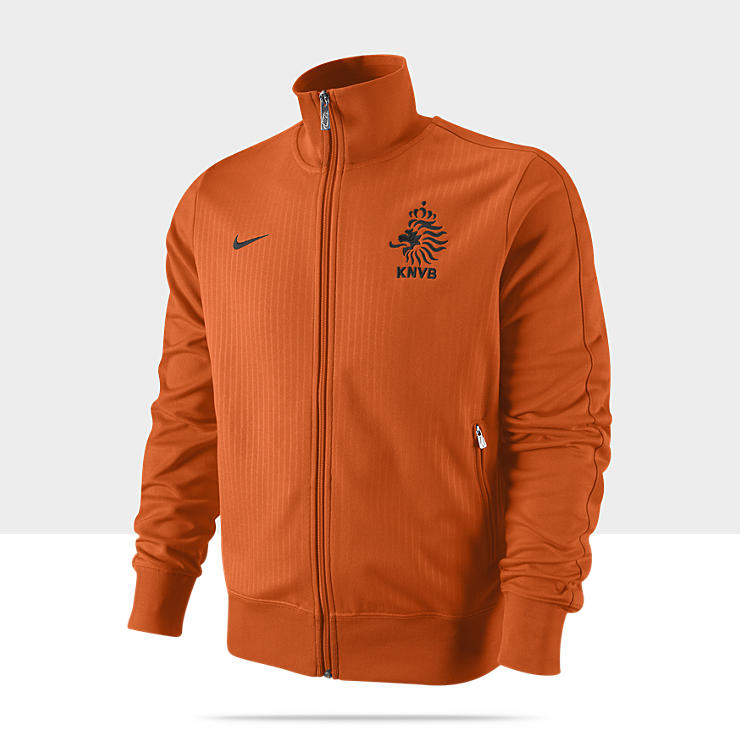 Netherlands Authentic N98 - Veste de survêtement de football pour Homme