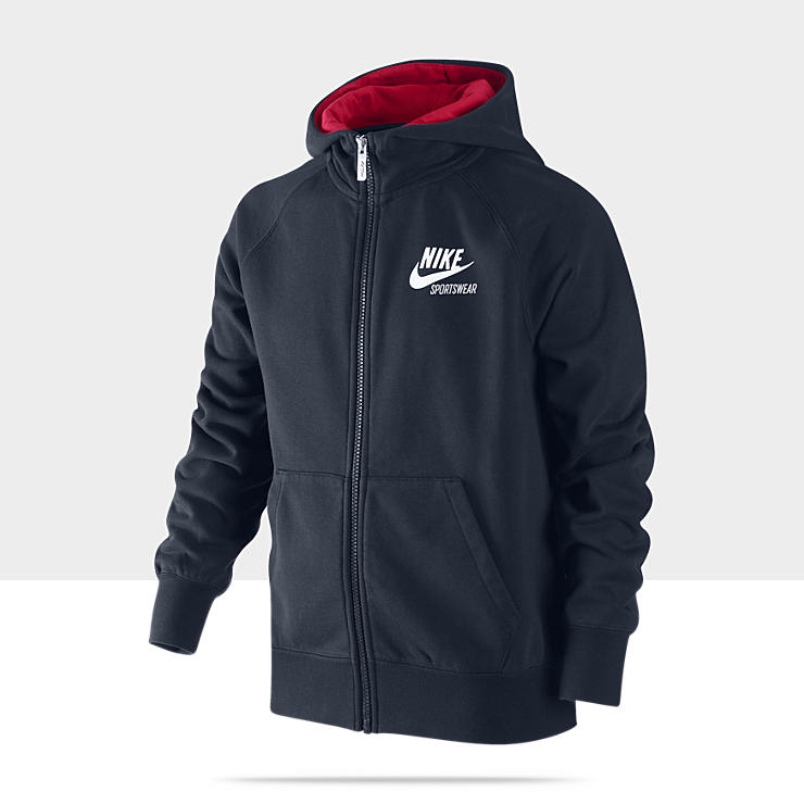 Nike AW77 - Sweat &agrave; capuche pour Gar&ccedil;on (8 - 15 ans)