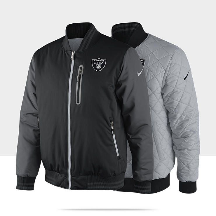 Veste r&eacute;versible Nike Destroyer OW (NFL Raiders) pour Homme