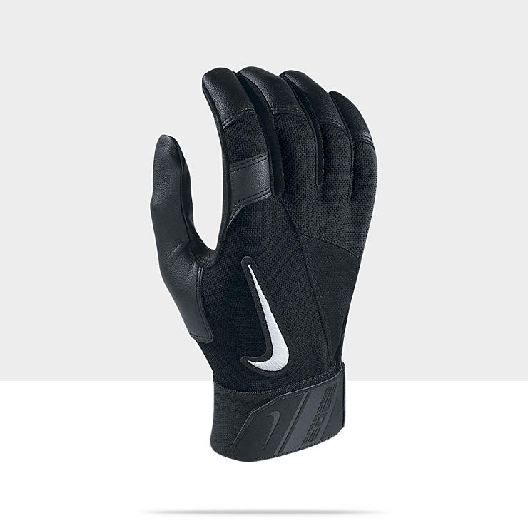 Nike Diamond Elite Edge - Gants de batteur de baseball (taille L/1 paire)