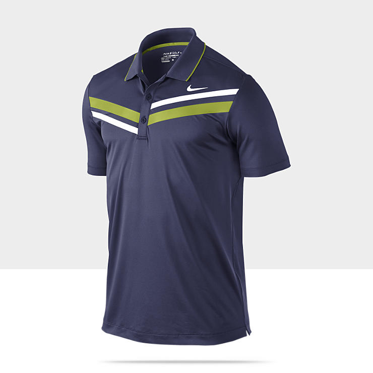 Nike Double Stripe &ndash; Polo de golf pour Homme