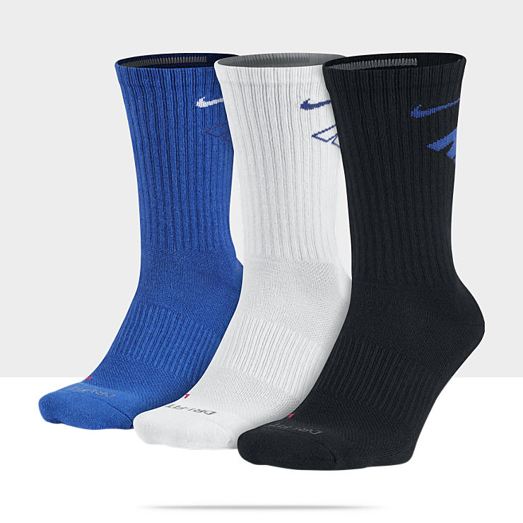 Nike Dri-FIT Cotton Fly Crew – Chaussettes (3 paires)