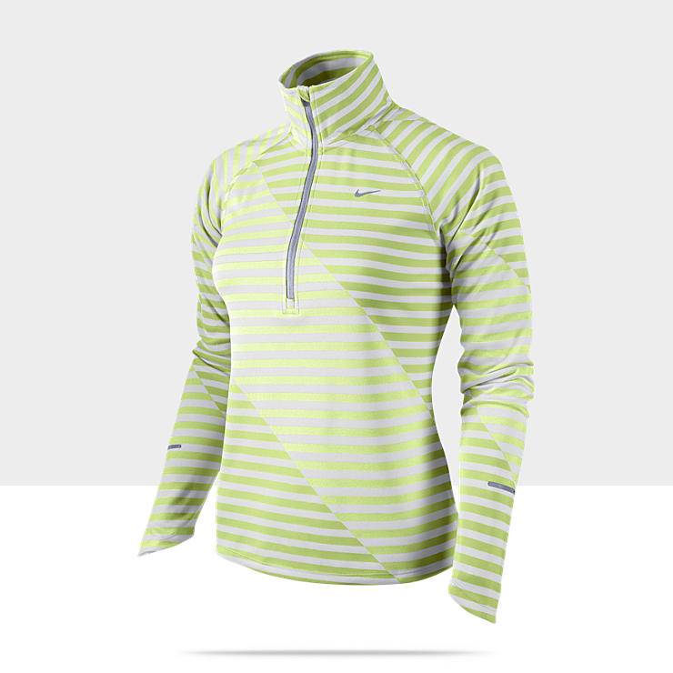 Nike Dri-FIT Element Jacquard Print Half-Zip Camiseta de running - Mujer