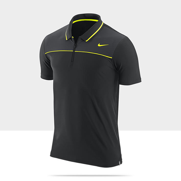 Nike Black Dri Fit Polo Shirts