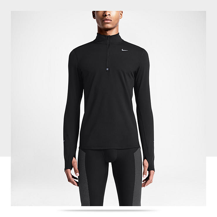 Nike Element Half-Zip &ndash; Haut de course &agrave; pied pour Homme