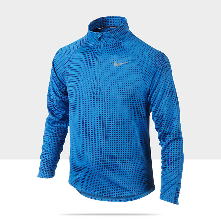 Nike Element Jacquard Camiseta de running Half-Zip (8 a 15 años) - Chicos