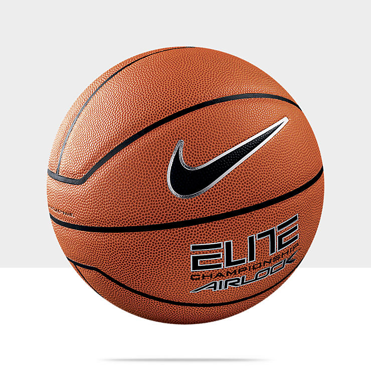 Nike Elite Championship Airlock &ndash; Ballon de basket-ball (Taille&nbsp;7) pour Homme